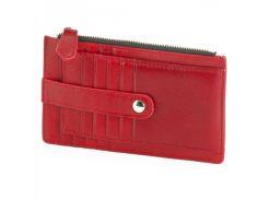 Красная визитница-портмоне на ремешке  Traum арт. 7201-31