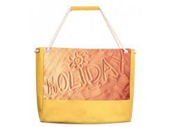 Сумка для пляжа с надписью HOLIDAY на песке XYZ арт. PL2204