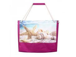 Яркая сумка для пляжа в морским принтом XYZ арт. PL2222
