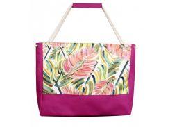 Пляжная сумка с разноцветным принтом XYZ арт. PL2223