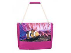 Оригинальная пляжная сумка с рисунком рыбки XYZ арт. PL2226