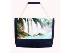 Удобная сумка для пляжа с водопадом XYZ арт. PL2231