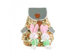 Симпатичный рюкзачок с игрушками Traum арт. 7006-44