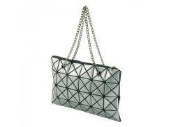 d36acfc92ae8 Сумка с серебристым геометрическим декором Traum арт. 7241-23