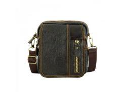 Кожаная сумка через плечо Traum арт. 7172-10
