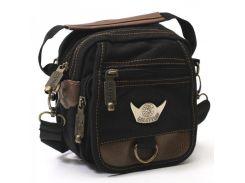 Небольшая сумка через плечо GoldBe арт. C1001Black