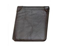 Кожаный бумажник темно-коричневого цвета Traum арт. 7110-52