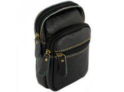 Мини-сумка на ремень из натуральной кожи Traum арт. 7173-15
