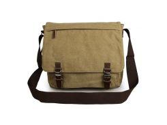 Молодежная сумка через плечо песочного цвета  Bego арт. 1026n