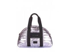 Стеганая сумка Alaska Poolparty арт. alaska-stripe-silver