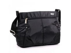 Легкая сумка через плечо черного цвета  Dolly арт. 646