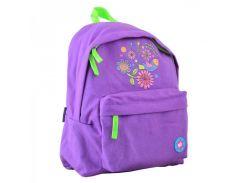 Сиреневый рюкзак с цветами Yes! арт. 555418