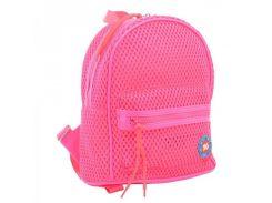 391f16db81bb Небольшой прозрачный рюкзак розового цвета Yes! ар... Маленький  перфорированный рюкзак.