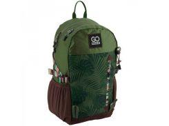 Спортивный рюкзак зеленого цвета GoPack арт. GO18-128L