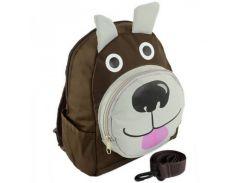 Весёлый рюкзак с мордой собачки Traum арт. 7005-11