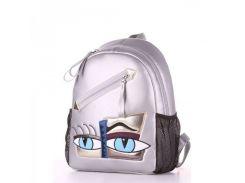 Серебристый рюкзак для учёбы и отдыха Alba Soboni арт. 129893