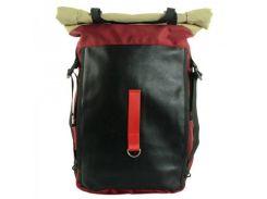 Вместительный бордовый рюкзак Traum арт. 7022-30