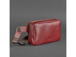 Кожаная сумка ручной работы  BlankNote арт. BN-BAG-6-vin