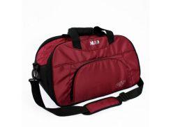 Вместительная спортивная сумка бордового цвета MAD арт. SBL03