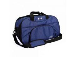 Темно-синяя спортивная сумка с отделом для обуви MAD арт. SBL51