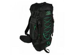 Рюкзак туристический Rambler 44 Black/Forest Green Highlander арт. 924208