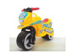 Каталка Мотоцикл желтый 11-006 ZV