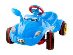 Машина педальная Молния № 09-903 синя ZMV