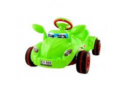 Машина педальная Молния №09-903 зелен. ZMV