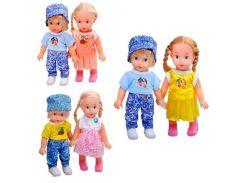 Кукла 8852  3 вида, мальчик+девочка  20-19см ZN