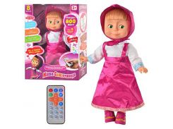 Кукла MM 4614 Сказочница, р/у говорит 800 фраз, 7 стихов, 9 сказок, 8 загадок, 7 скороговорок, 9 песен, качает головой ZMM