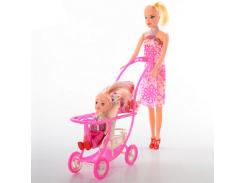Кукла YX01 с дочкой, 26,5см, дочка 10см, коляска 12см, в кульке ZZX