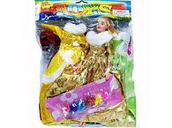 Кукла с нарядом 888 АВ-1 (72шт) в кульке, 26-35см VM