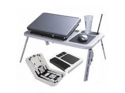 Столик для ноутбука E-table LD09 + 2 встроенных кулера KC