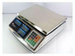 Весы торговые ACS 50kg/5g MS 968 Domotec 6V металл ZPN