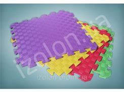 Комплект мягкий пол коврик-пазл 500х500х10мм 4 шт