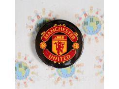 Магнит металлический Манчестер Юнайтед 58 мм