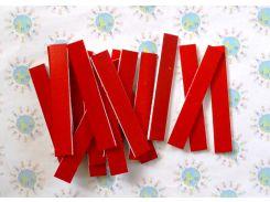 Набор счётных палочек на магнитах для доски Красный