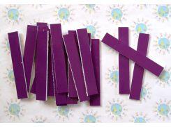 Набор счётных палочек на магнитах для доски Фиолетовый