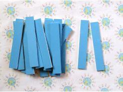 Набор счётных палочек на магнитах для доски Голубой