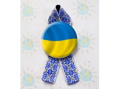 Значок Україна! Та стрічка Вишиванка
