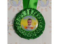 Медаль для детского сада Зелёный горошек