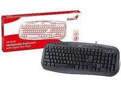 Клавиатура Genius KB-M200 Black USB, BB