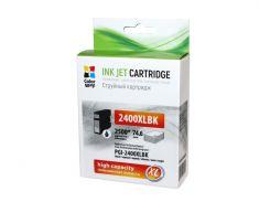 Картридж Canon PGI-2400XL, Black, iB4040/MB5040/MB5340, 75 мл, ColorWay (CW-PGI-2400XLBK)