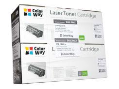 Картридж HP 83A (CF283A), Black, M125nw/M127fn/M127fw, ColorWay, Dual Pack (CW-H283FM)