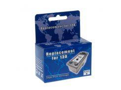 Картридж HP №130 (C8767HE), Black, DJ 5743/6543, MicroJet (HC-F35L)
