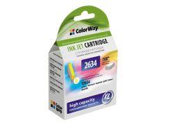 Картридж Epson 26, Yellow, XP-600/605/700, ColorWay (CW-EPT2634)