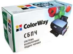 СНПЧ ColorWay Canon MG6340/MG7140, с чипами, 4x100 г чернил (MG6340CN-6.1NC)