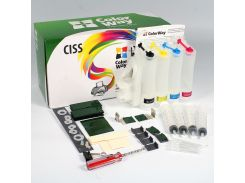 СНПЧ ColorWay HP 655, с демпфером, 4х50 г чернил (H655CN-4.5NC)