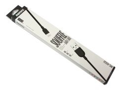 Кабель USB  iPhone 5, Remax 'Souffle Data Cable', Black, 1 м (RC-031i)