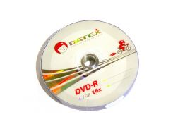 Диск DVD-R 10 шт. Datex, 4.7Gb, 16x, Bulk Box